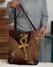 Golden Ankh All-over Tote aos-all-over-tote-lifestyle-front-10