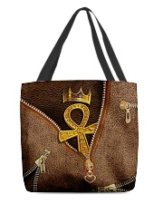 Golden Ankh All-over Tote back