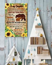 To my daughter 11x17 Poster lifestyle-holiday-poster-2