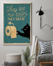 They see me rollin' they hatin' 11x17 Poster lifestyle-poster-1
