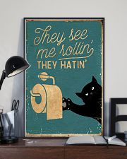 They see me rollin' they hatin' 11x17 Poster lifestyle-poster-2