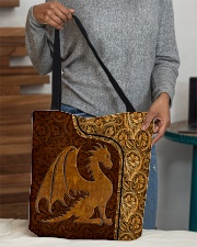 Dragon Leather pattern print All-over Tote aos-all-over-tote-lifestyle-front-10