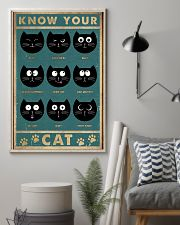 Cat Expression 11x17 Poster lifestyle-poster-1