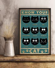 Cat Expression 11x17 Poster lifestyle-poster-3