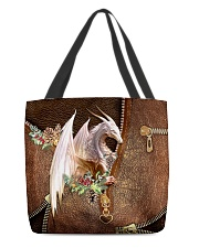 Dragon Leather Pattern Print All-over Tote front