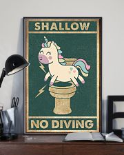 Shallow no diving 11x17 Poster lifestyle-poster-2
