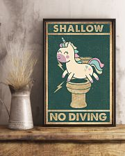 Shallow no diving 11x17 Poster lifestyle-poster-3