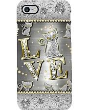 Love cat - pattern print Phone Case i-phone-8-case