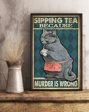 Sipping Tea 11x17 Poster lifestyle-poster-3