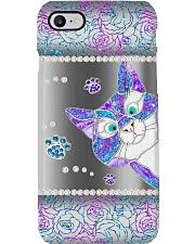 Peeking cat Phone Case i-phone-8-case