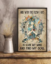 With the flow I go 11x17 Poster lifestyle-poster-3
