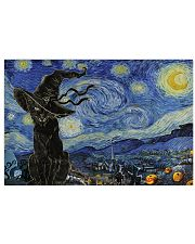 Starry night Halloween 17x11 Poster front