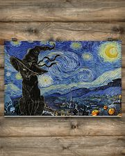 Starry night Halloween 17x11 Poster poster-landscape-17x11-lifestyle-14
