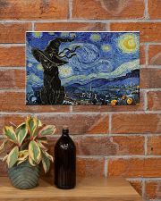 Starry night Halloween 17x11 Poster poster-landscape-17x11-lifestyle-23