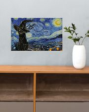 Starry night Halloween 17x11 Poster poster-landscape-17x11-lifestyle-24
