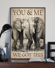 You and me we got this 11x17 Poster lifestyle-poster-2