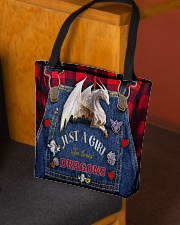 Love dragons All-over Tote aos-all-over-tote-lifestyle-front-02