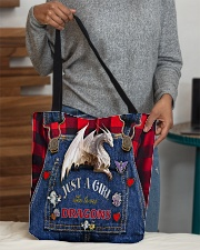 Love dragons All-over Tote aos-all-over-tote-lifestyle-front-10