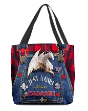 Love dragons All-over Tote back