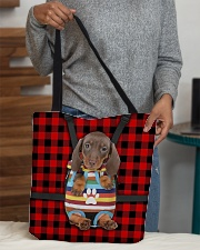 Dachshund All-over Tote aos-all-over-tote-lifestyle-front-10