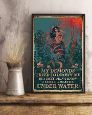 My demonds tried to drown me but they didn't know 11x17 Poster lifestyle-poster-3
