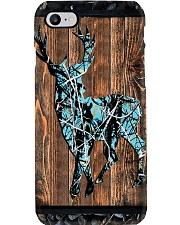 Hunting Faux Wood Print Phone Case i-phone-8-case