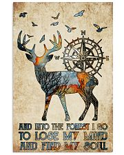 Into The Forest I Go  11x17 Poster front