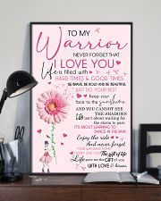 To my warrior 11x17 Poster lifestyle-poster-2