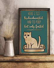 Here I sit brokenhearted 11x17 Poster lifestyle-poster-3