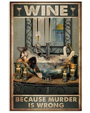 Because murder is wrong 11x17 Poster front