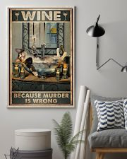 Because murder is wrong 11x17 Poster lifestyle-poster-1