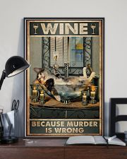 Because murder is wrong 11x17 Poster lifestyle-poster-2
