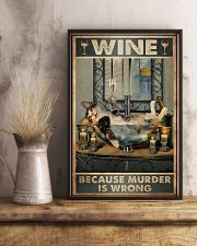 Because murder is wrong 11x17 Poster lifestyle-poster-3