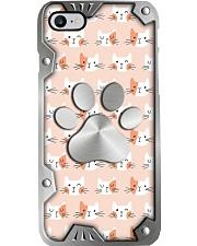 I love cats Metal pattern print Phone Case i-phone-8-case