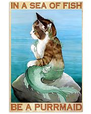 Be A Purrmaid 11x17 Poster front