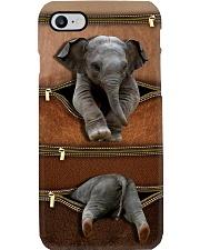 Elephant Leather Pattern Printfilein Phone Case i-phone-8-case