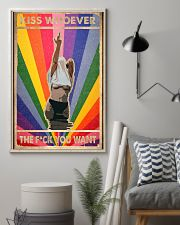 Kiss whoever 11x17 Poster lifestyle-poster-1