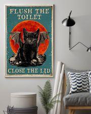 Flush the toilet 11x17 Poster lifestyle-poster-1