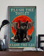 Flush the toilet 11x17 Poster lifestyle-poster-2