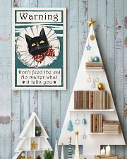 Warning don't feed the cat  11x17 Poster lifestyle-holiday-poster-2