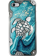 Turtle Metal Pattern Print Phone Case i-phone-7-case