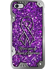 Never give up - Printed phone case Phone Case i-phone-8-case