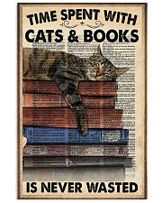 Time spent with cats 11x17 Poster front