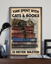 Time spent with cats 11x17 Poster lifestyle-poster-2