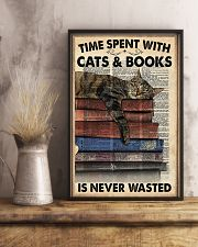 Time spent with cats 11x17 Poster lifestyle-poster-3