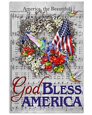 God bless America Independence day 11x17 Poster front