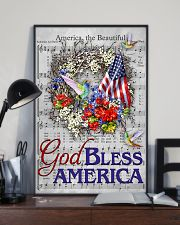 God bless America Independence day 11x17 Poster lifestyle-poster-2
