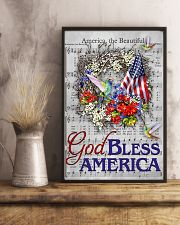 God bless America Independence day 11x17 Poster lifestyle-poster-3
