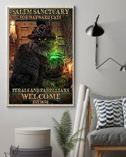 Salem sanctuary for wayward cats Halloween 11x17 Poster lifestyle-poster-1