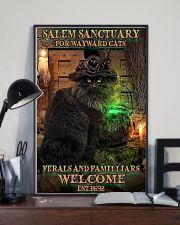 Salem sanctuary for wayward cats Halloween 11x17 Poster lifestyle-poster-2